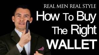 Download Mens Wallets - How To Buy The Right Wallet - Billfolds - Money Clips - Travel Bill Folds Video