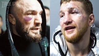 Download Травма Минеева и возмущение Исмаилова / Владимир и Магомед после боя Video