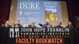 Download FHI Faculty Bookwatch with Duke President Richard H. Brodhead Video