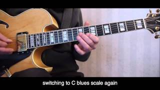 Download caravan improvisation featuring mixolydian and blues scales Video