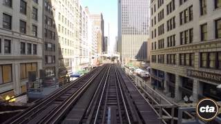 Download CTA Ride the Rails: Brown Line in Real Time Video
