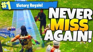 Download How To NEVER MISS A SHOT Again in Fortnite! - Tips and Tricks Video
