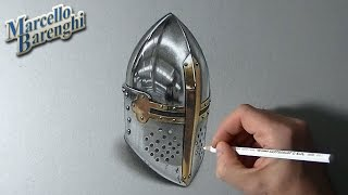 Download How to draw a medieval helm Video