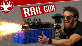 Download Making a RAILGUN and then TESTING it! Video