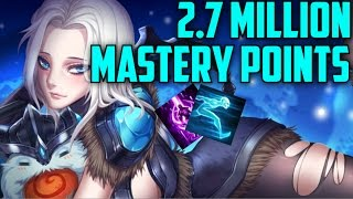 Download KOREAN DIAMOND Mid Sejuani 2,700,000 MASTERY POINTS- Spectate Highest Mastery Points on Sejuani Video