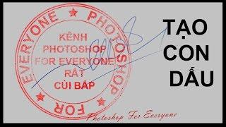Download Làm con dấu chứng nhận vui bằng photoshop cs6. Video