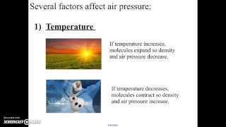 Download Factors Affecting Air Pressure Video