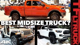 Download 2020 Toyota Tacoma vs Ford Ranger vs Jeep Gladiator - This OR That Truck? Ep.1 Video
