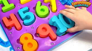 Download Learn Numbers for Toddlers Teach Counting with Genevieve and Cookie Monster on the Go Numbers Toy! Video
