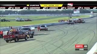Download IndyCar 2015 - Accidente de Justin Wilson (QEPD) en Pocono Video