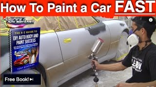 Download How To Paint Any Car Yourself - Step-by-Step Car Painting in 12 Minutes! Video