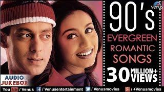 Download 90's Evergreen Romantic Songs | Most Romantic Hindi Songs | Audio Jukebox | Hindi Love Songs Video