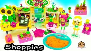 Download Shopkins Happy Places Shoppies Doll Flower Garden + Surprise Blind Bags in Dirt ? Video