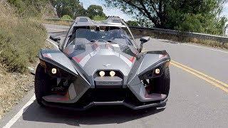 Download Polaris Slingshot: Real-life Batmobile? Video