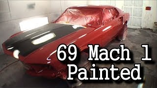 Download 1969 Ford MUSTANG Mach 1-This Car Is FINALLY PAINTED Video