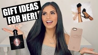 Download 50 GIFT IDEAS FOR HER! HOLIDAY GIFT GUIDE 2016♡ Video