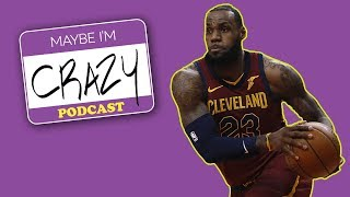 Download LeBron and Kanye with Matt Barnes | EPISODE 39 | MAYBE I'M CRAZY Video