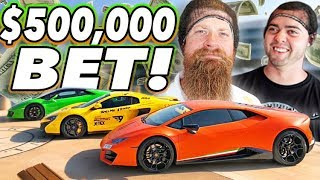 Download The HALF MILLION Dollar bet - Fred vs Vehicle Virgins Video