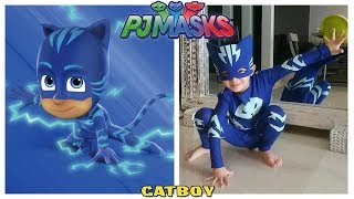 Download Disney PJ Masks Characters in Real Life Video