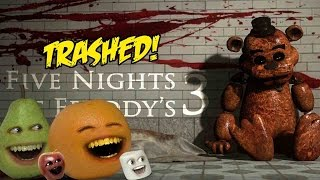 Download Annoying Orange - FIVE NIGHTS AT FREDDY'S 3 TRAILER Trashed!! Video