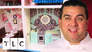 Download Super Detailed Life-Size Dollhouse Cake   Cake Boss Video