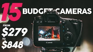 Download 15 BUDGET CAMERAS for Video under $1000 ($279-$848) (2018) Video