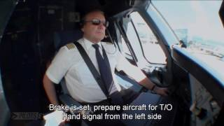 Download Pilotseye.tv - Lufthansa Airbus A380 Departure and Take Off [English Subtitles] Video