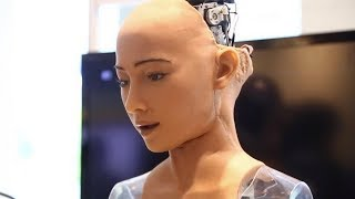 Download Interview With Sophia, An Artificial Super Intelligent Robot Wants Job, Family, Citizenship Video