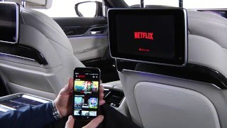 Download Use Google Chromecast In Rear Seat Entertainment | BMW Genius How-To Video