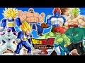 Download Dragon Ball Z Budokai Tenkaichi 3 : Batalla De Musculosos - Trunks Vegeta Broly Androide 13 Etc Video