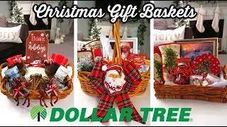 Download DIY DOLLAR TREE CHRISTMAS GIFT BASKETS 🎄| BUDGET CHRISTMAS GIFT IDEAS Video