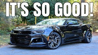 Download 2018 Chevrolet Camaro ZL1 Review (The ALMOST PERFECT Car) Video
