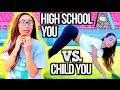 Download High School You Vs. Child You! Video