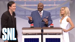 Download Celebrity Family Feud with Ariana Grande - SNL Video