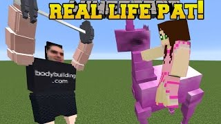 Download Minecraft: REAL LIFE POPULARMMOS!!! (PAT THROWING WEIGHTS!!) Mod Showcase Video