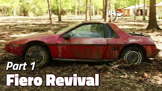 Download The Journey Begins | 1985 Fiero 2M4 Revival - Part 1 Video