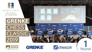 Download Round 1 - 2019 GRENKE Chess Classic Video