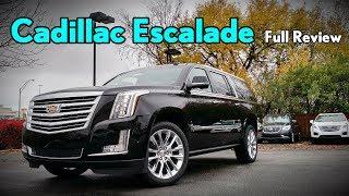 Download 2018 Cadillac Escalade ESV: Full Review | Platinum, Premium Luxury & Luxury Video