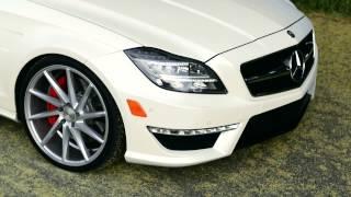 Download CLS 63 on Vossen Wheels Video