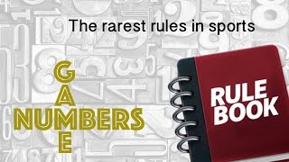 Download THE RAREST RULES IN SPORTS - NUMBERS GAME Video