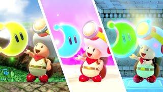 Download All Super Mario Odyssey Levels in Captain Toad: Treasure Tracker Video