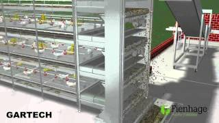 Download GARTECH FIENHAGE , layer battery cages , jaulas de Pollos Engorde Video