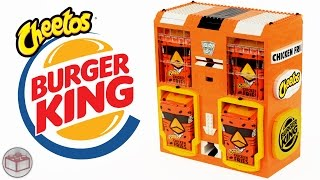 Download LEGO Burger King Cheetos Chicken Fries Machine Video