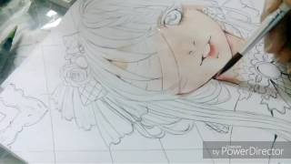 Download Colouring the skin ( watercolours) Video