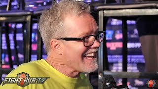 Download Freddie Roach ″McGregor got beat up a bit by my guys in sparring; Floyd said its going to happen″ Video