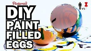 Download DIY Paint Filled Eggs - Kid Vs Pin Video