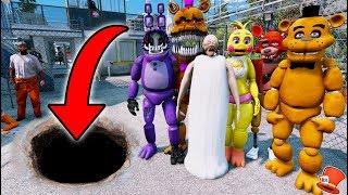 Download HARDEST ANIMATRONIC & GRANNY JAILBREAK! (GTA 5 Mods For Kids FNAF RedHatter) Video
