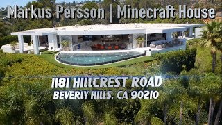 Download Markus Persson House Minecraft Notch - 1181 N Hillcrest Rd, Beverly Hills, CA 90210 Video