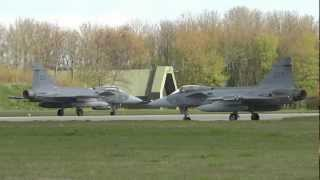 Download NATO Frisian Flag - awesome mass launch and recovery of Vipers, Typhoons, Gripens & Hornets Video