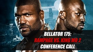 Download Rampage Jackson and King Mo Argue on Bellator 175 Conference Call Video